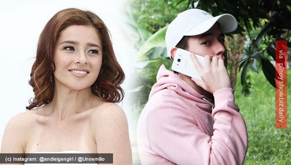 Jake Ejercito tweets he was being used for film's promo; Andi Eigenmann fires back with 30 tweets