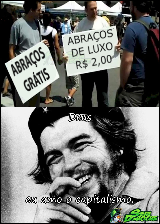 CAPITALISMO EM TODOS OS LUGARES