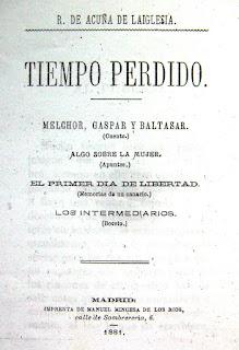 Imagen de la portada de Tiempo perdido