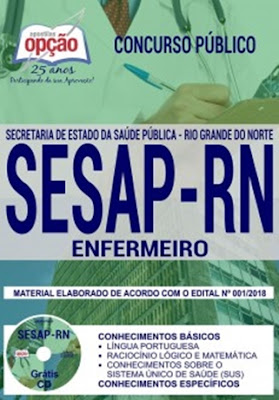 Apostila concurso SESAP 2018 ENFERMEIRO