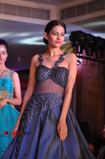 South Indian Celebrities Pos at Love For Handloom Collection Fashion Show  0052.jpg