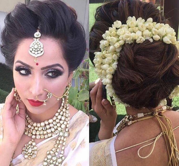 Gajra Hairstyle