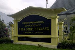 Tentang Desa Cokrokembang Ngadirojo Pacitan
