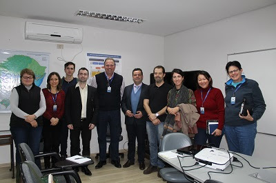 CPRM recebe visita de técnicos da Secretaria de Minas e Energia do RS