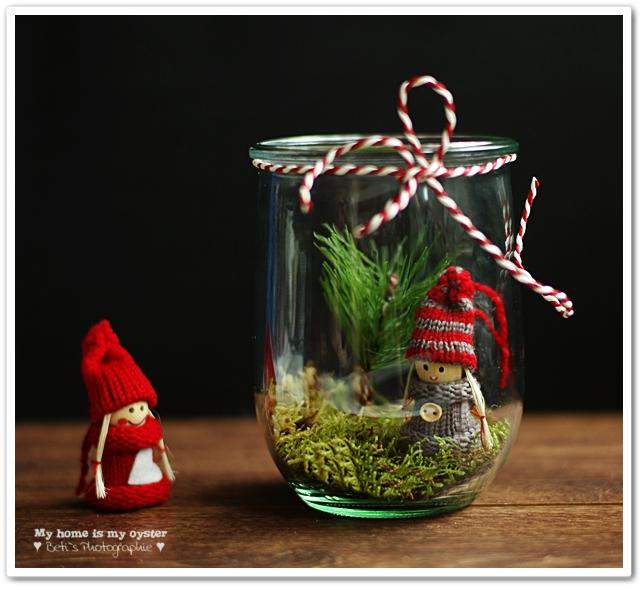 My Home Is My Oyster Diy Hübsche Weihnachtsdeko Im Glas