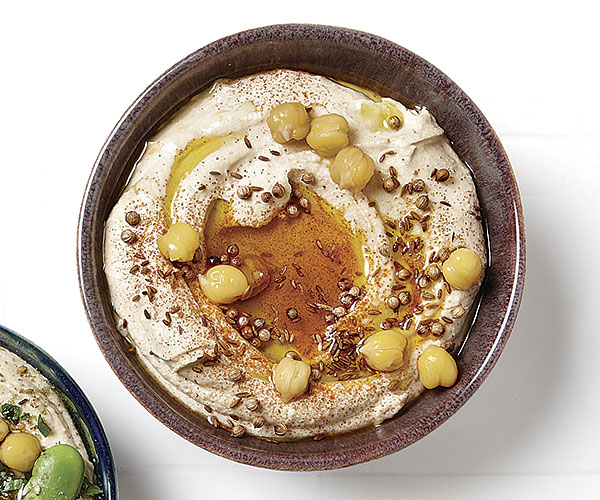 Cumin-Coriander Hummus