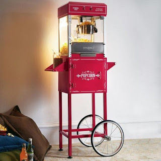 Popcorn machine portable