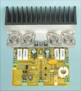 kit pcb Power Amplifier with 2N3055 & MJ2955