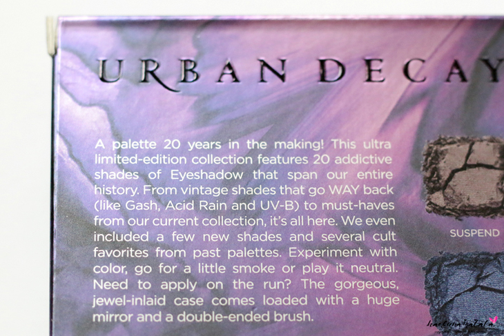 Urban Decay Vice Ltd Reloaded Palette Review & Swatches