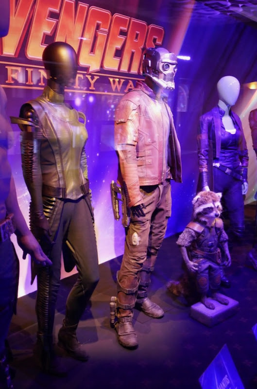 Guardians of the Galaxy costumes Avengers infinity War