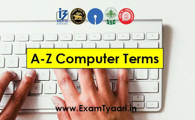 285 A to Z Full Forms of Computer Terms [PDF Download] - Exam Tyaari