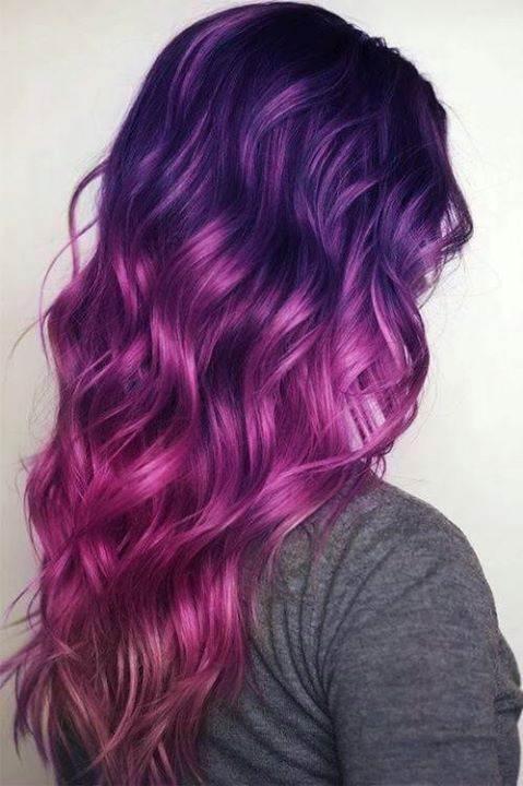 Wondrous Purple Hairstyle For Girls Fashionate Trends Short Hairstyles Gunalazisus