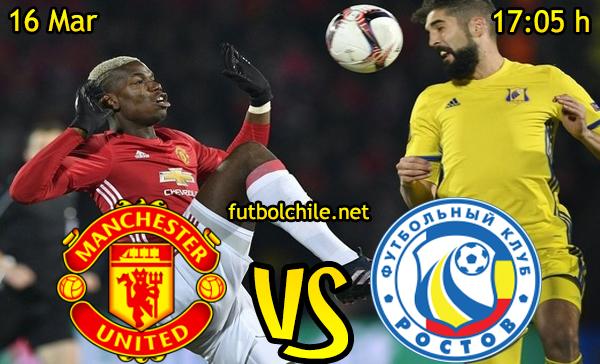 Ver stream hd youtube facebook movil android ios iphone table ipad windows mac linux resultado en vivo, online: Manchester United vs Rostov