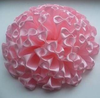 Kurdeleden Pon Pon Çiçek Yapımı