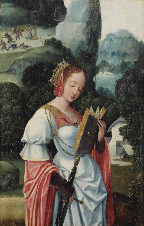 Антверпенская школа, ок.1520 - Святая Екатерина