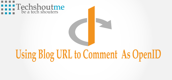 Blog URL To Comment As OpenID