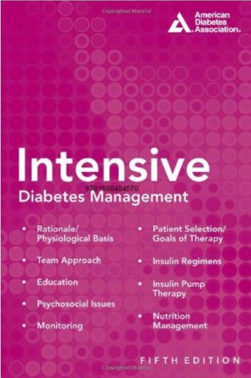 Intensive Diabetes Management, 5th Edition PDF 2012