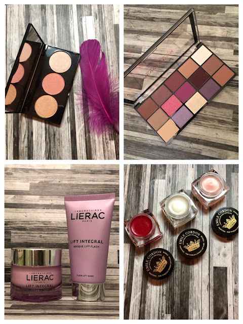 Makeup Radar: Cheekbone Beauty Stardust, Makeup Revolution Vitality, Lierac Lift Integral, Emile Cordon Lip Care)