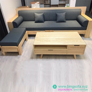 Bộ bàn ghế nệm sofa phòng khách
