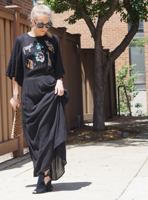 boho chic chicago fashion blogger
