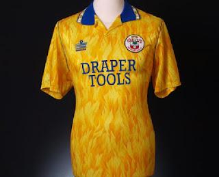 Southampton 3rd Kit 1991