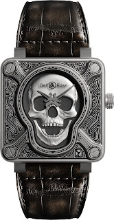 Montre Bell & Ross Vintage BR 01 Burning Skull