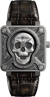 Montre Bell & Ross Vintage BR01 Burning Skull