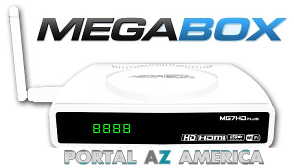 Resultado de imagem para MEGABOX MG5 HD PLUS PORTAL AZAMERICA