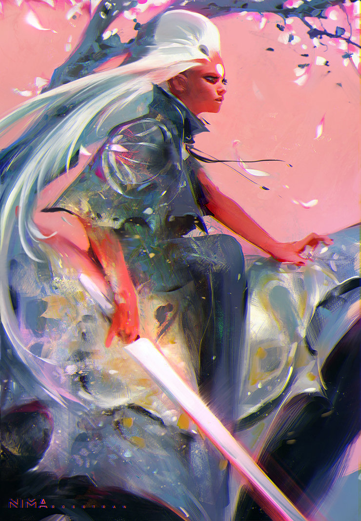 A incrível arte digital de Ross Tran