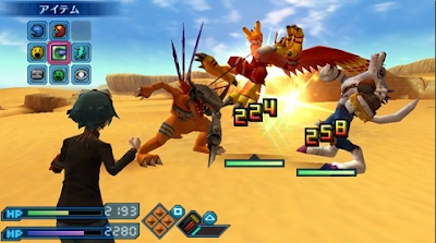 Digimon World Re Digitize psp