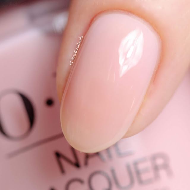 """Always Bare For You"" collection by OPI - swatches and nail art"