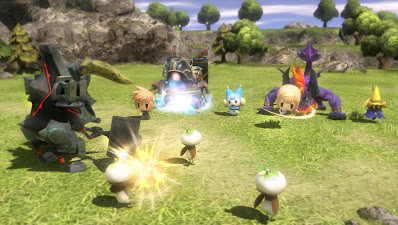 Download Game World of Final Fantasy PC