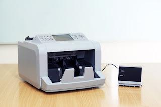 Máy đếm tiền Silicon MC 7PLUS mini chính hãng