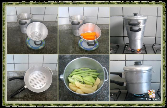 Cozinhando no vapor 4