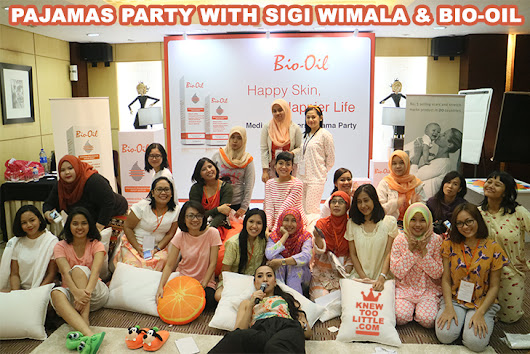 My Happy Skin, Happier Life Pajama Party with Sigi Wimala & Bio-Oil