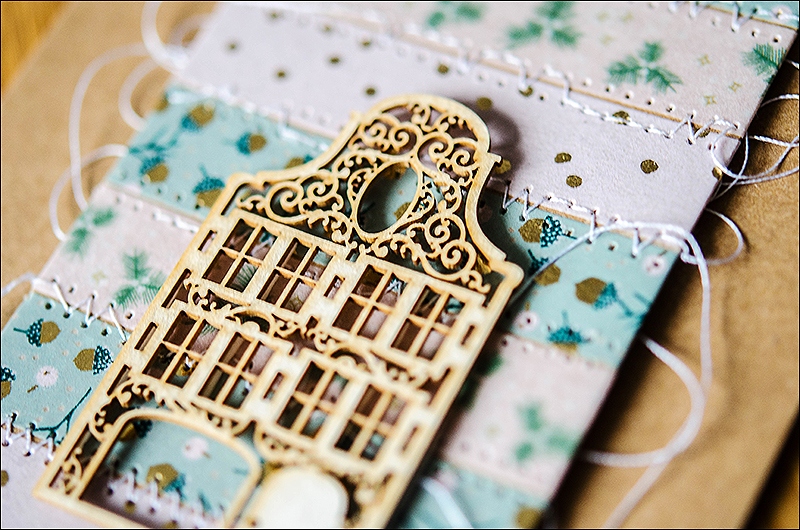 Stephanie Berger - Scrapbooking - Wycinanka - Cardmaking - House