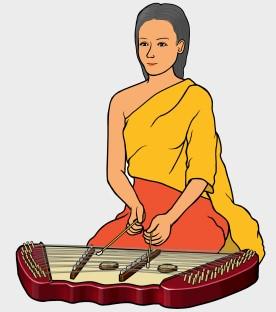 タイの打弦楽器 キム