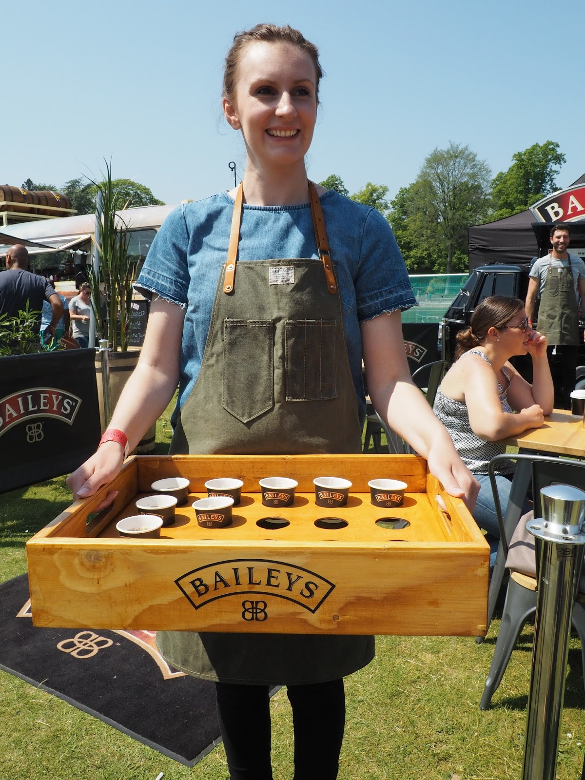 Foodies festival Birmingham Baileys coffee