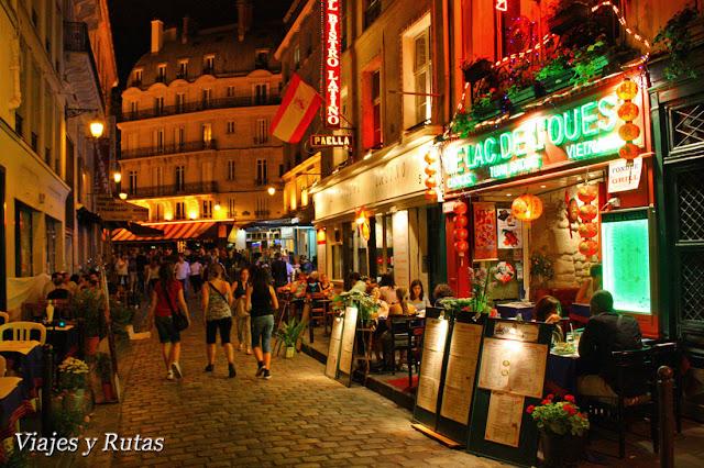 Barrio Latino, Paris