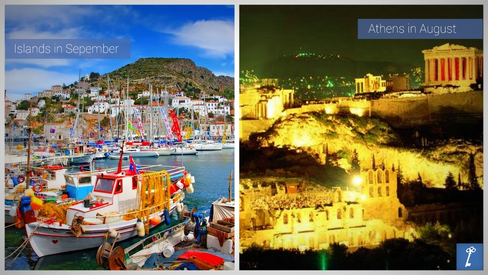 KeyTours Discover Athens in August Greek islands in