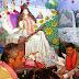 गिद्धौर : सार्वजनिक पुस्तकालय में हुआ सरस्वती पूजा का भव्य आयोजन