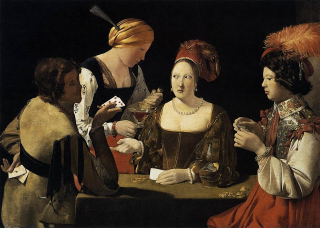 O Trapaceiro com Ás de Ouros (1635)
