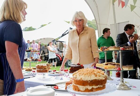 The Duchess of Cornwall celebrates her 72nd birthday