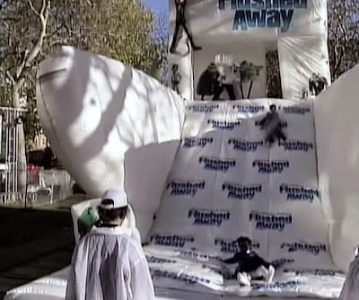 Celebrities Arrive On Inflatable Toilet
