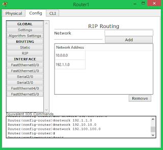 simulasi routing dengan cisco packet tracer