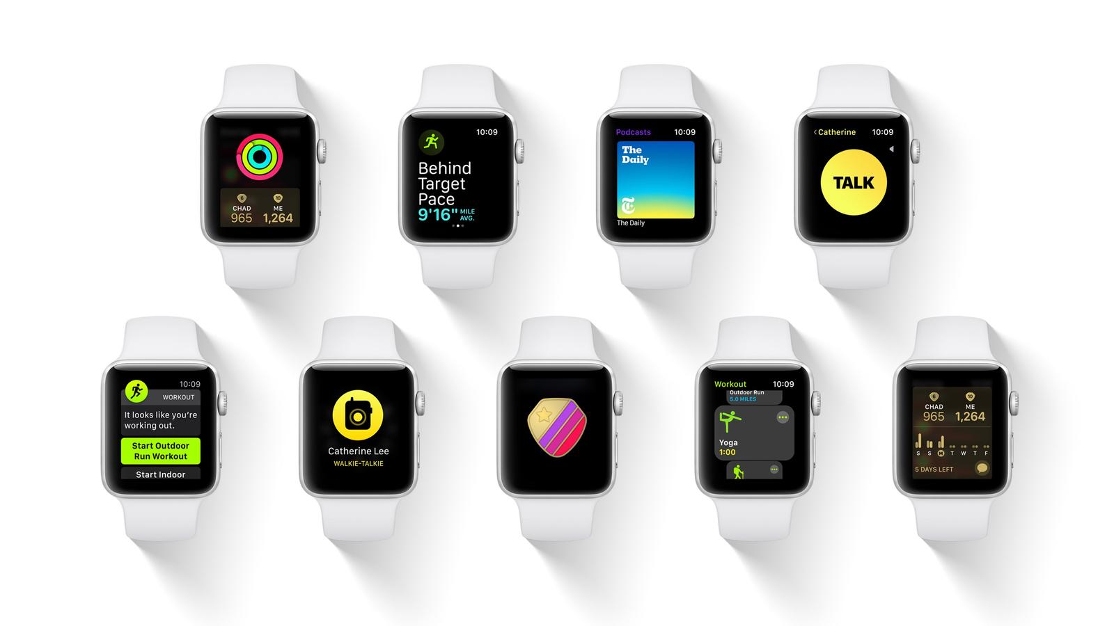 apple watch series 1 funktionen