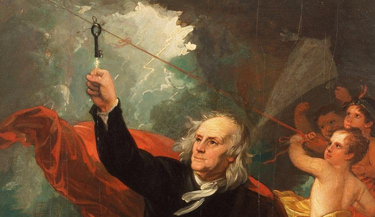 Misteri Eksperimen Layangan Listrik Benjamin Franklin