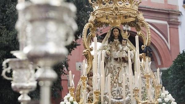 Horario e Itinerario Procesión de Nuestra Señora del Socorro Coronada. Córdoba 30/09/2018