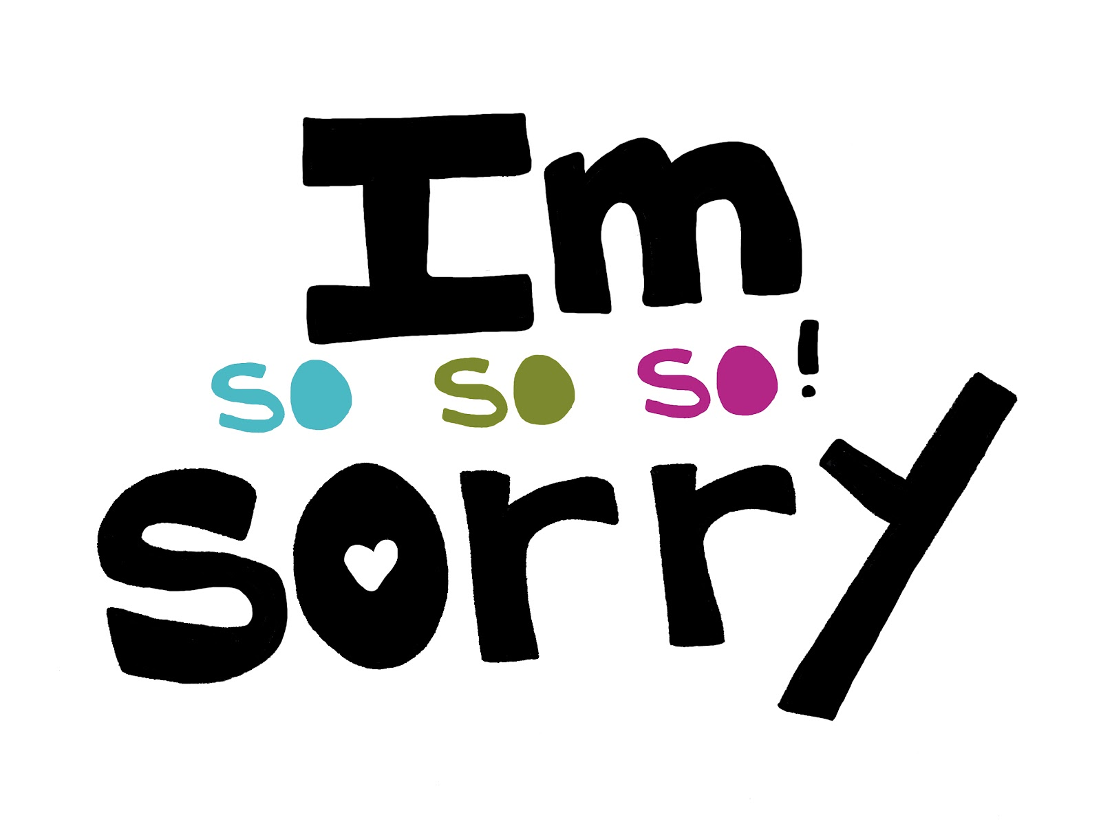 how to say sorry to a guy