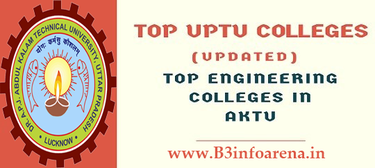 AKTU (UPTU) Top Colleges 2017